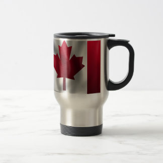 Canadian Flag Travel Mug