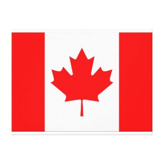 Canadian Flag Wall Canvas Gallery Wrap Canvas
