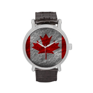 Canadian Flag Watches