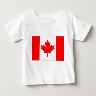 Canadian FlagPattern Baby T-Shirt
