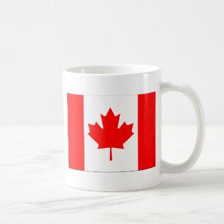 Canadian FlagPattern Coffee Mug