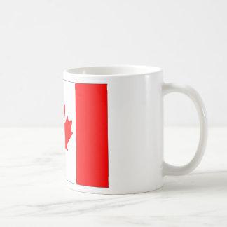 Canadian FlagPattern Mugs