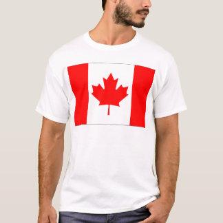 Canadian FlagPattern T-Shirt