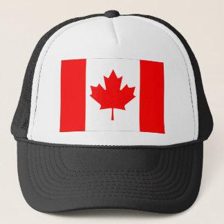 Canadian FlagPattern Trucker Hat