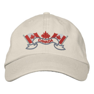 Canadian Flags Hat