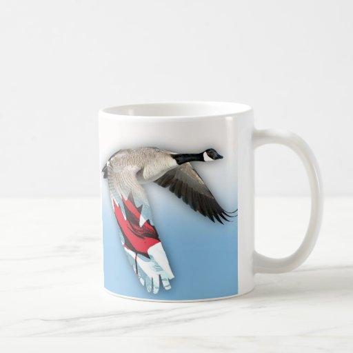 canadian flight coffee mug