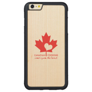 Canadian Foodie Carved® Maple iPhone 6 Plus Bumper