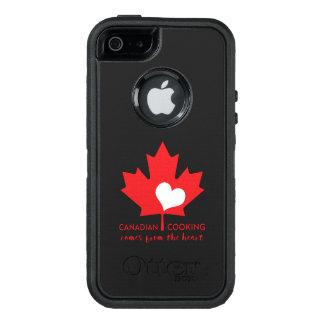 Canadian Foodie OtterBox Defender iPhone Case