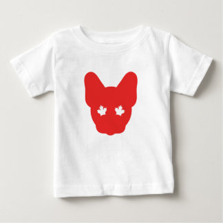 Canadian Frenchie Baby T-Shirt