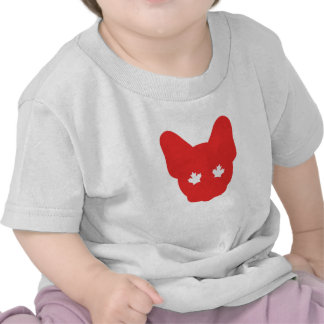 Canadian Frenchie Tee Shirts