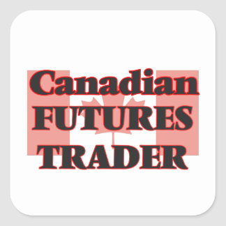 Canadian Futures Trader Square Sticker