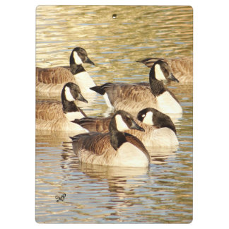 Canadian Geese 6062 Clipboard- personalize Clipboard