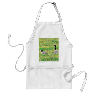 Canadian Geese Aprons