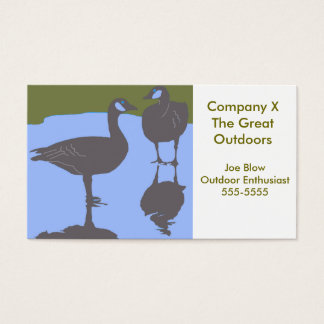 Canadian Geese Business Card