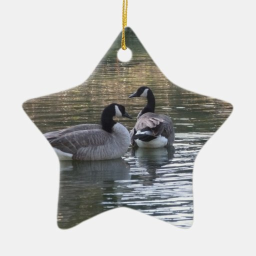 Canadian Geese Christmas Ornament
