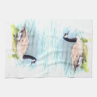 Canadian Geese Kitchen Towel
