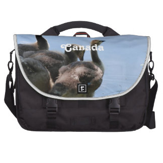 Canadian Geese Laptop Bags