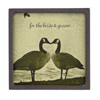 Canadian Geese Photo Gift Box