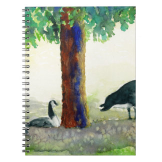 Canadian Geese Spiral Notebook