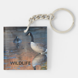 Canadian Geese Wildlife KEYCHAIN