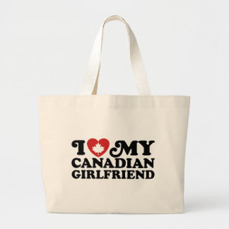Canadian Girlfriend Canvas Bags