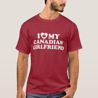 Canadian Girlfriend T-Shirt