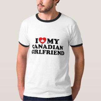 Canadian Girlfriend Tee Shirt