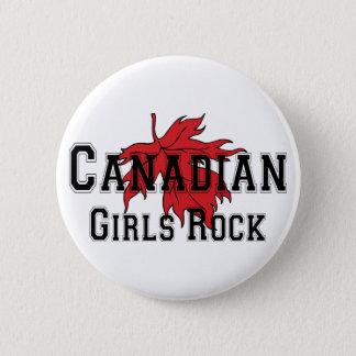 Canadian Girls Rock Button
