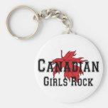 Canadian Girls Rock Keychain
