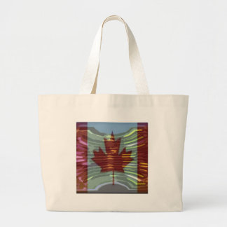 Canadian Gold MapleLeaf - Success in Diversity Tote Bags