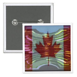 Canadian Gold MapleLeaf - Success in Diversity Button