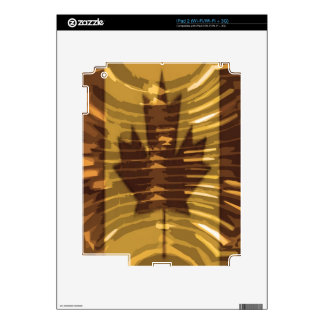 Canadian Gold MapleLeaf - Success in Diversity Decal For iPad 2