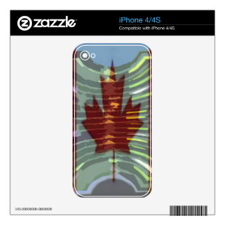 Canadian Gold MapleLeaf - Success in Diversity iPhone 4S Decal