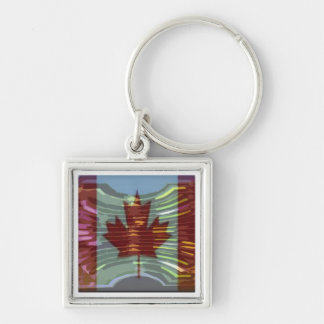 Canadian Gold MapleLeaf - Success in Diversity Key Chains