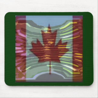 Canadian Gold MapleLeaf - Success in Diversity Mouse Pad