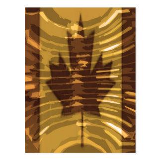 Canadian Gold MapleLeaf - Success in Diversity Postcard