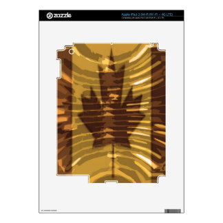 Canadian Gold MapleLeaf - Success in Diversity Skin For iPad 3