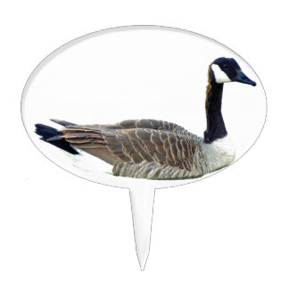 Canadian Goose Cake Topper
