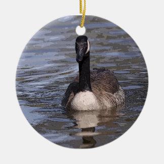 Canadian Goose Ceramic Ornament