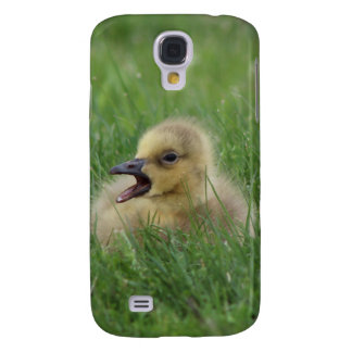 Canadian Goose Chick Samsung Galaxy S4 Cases