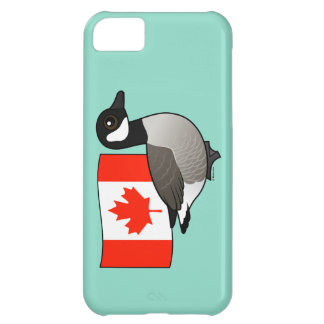 Canadian Goose & Flag iPhone 5C Covers