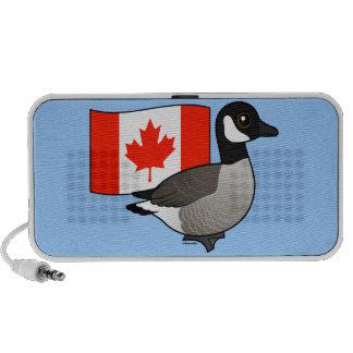 Canadian Goose & Flag iPod Speaker