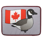 Canadian Goose & Flag Sleeves For MacBook Pro