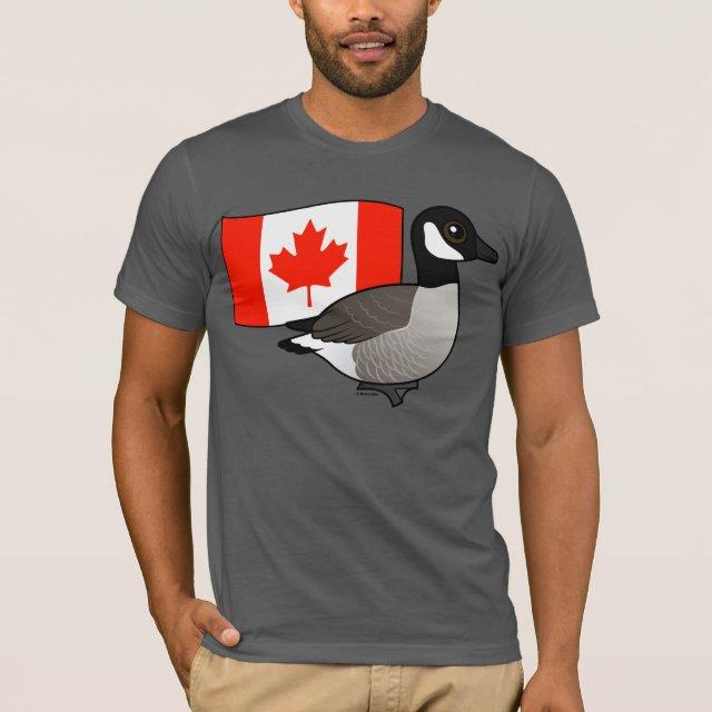 canada goose logo t shirt