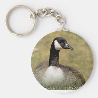 Canadian Goose Keychain