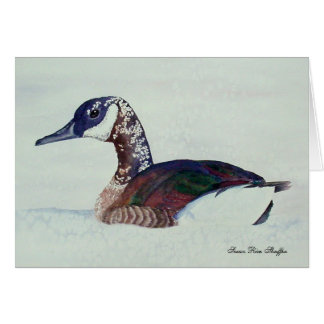 Canadian Goose Note Card