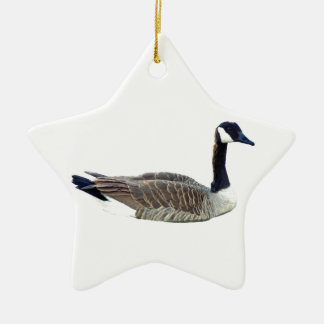 Canadian Goose Star Ornament