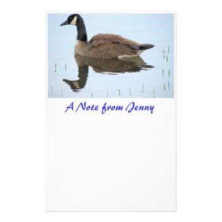 Canadian Goose Stationery