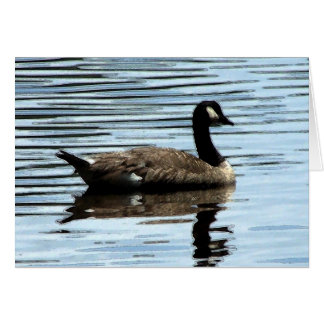 canadian goose stationery note card