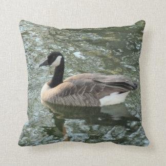 Canadian Goose Throw Pillow
